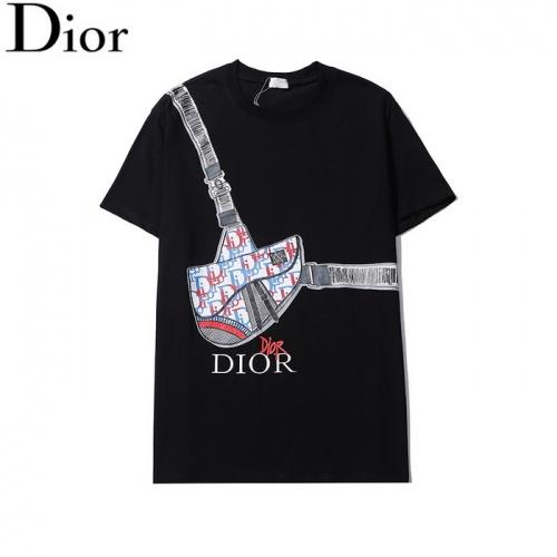 Christian Dior T-Shirts Short Sleeved O-Neck For Men #820143
