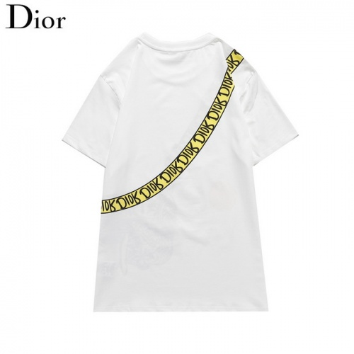 Replica Christian Dior T-Shirts Short Sleeved O-Neck For Men #820150 $27.00 USD for Wholesale