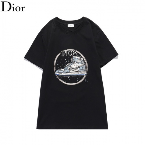 Christian Dior T-Shirts Short Sleeved O-Neck For Men #820154