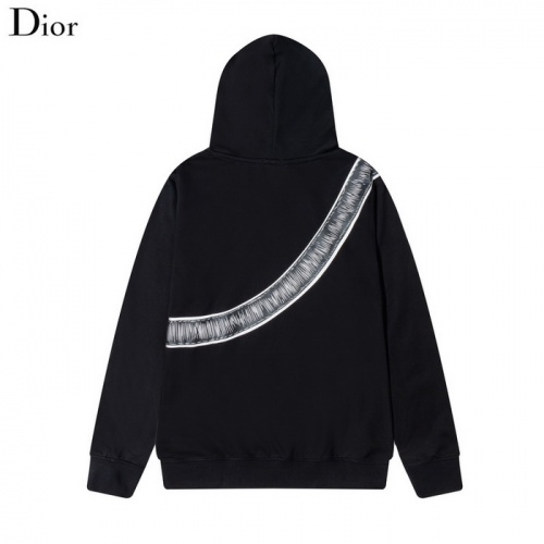 Replica Christian Dior Hoodies Long Sleeved Hat For Men #820182 $41.00 USD for Wholesale