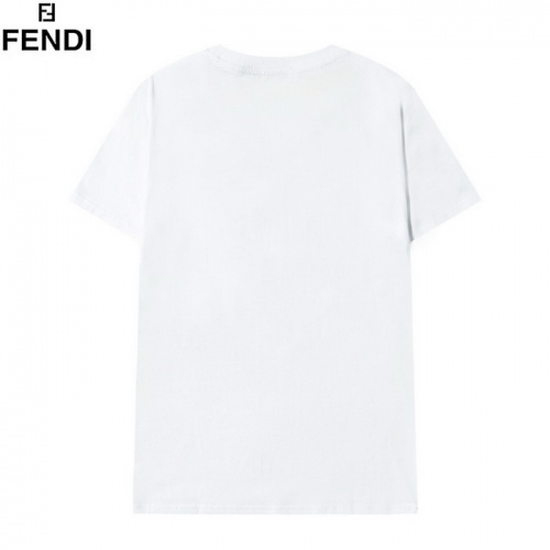 Replica Fendi T-Shirts Short Sleeved O-Neck For Men #820187 $29.00 USD for Wholesale