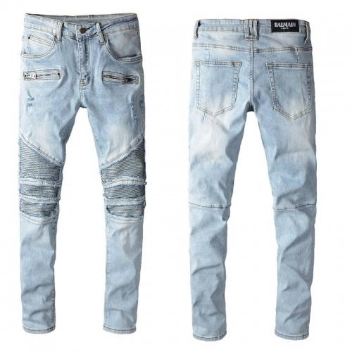 Balmain Jeans Trousers For Men #820234