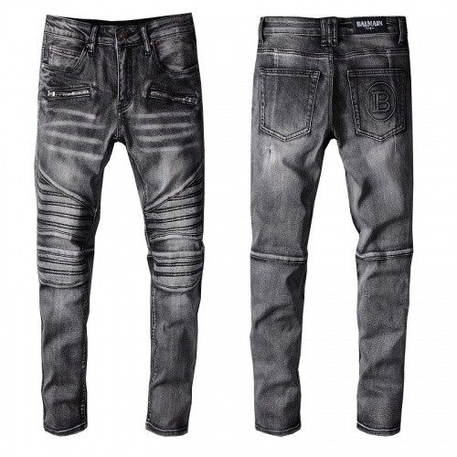 Balmain Jeans Trousers For Men #820236