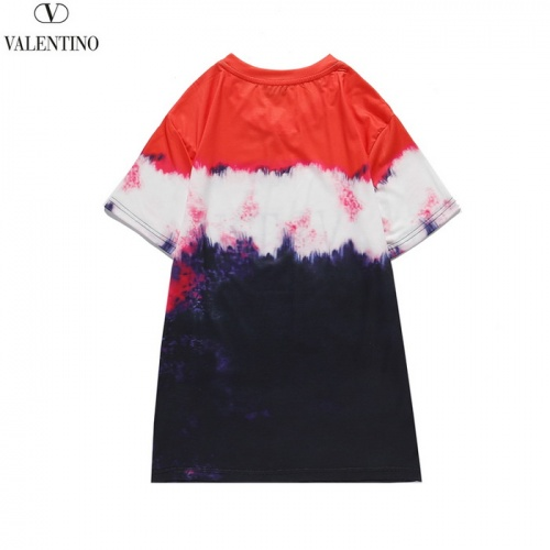 Replica Valentino T-Shirts Short Sleeved O-Neck For Men #820279 $27.00 USD for Wholesale