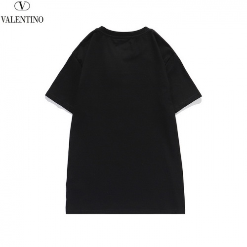 Replica Valentino T-Shirts Short Sleeved O-Neck For Men #820282 $25.00 USD for Wholesale