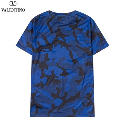 Replica Valentino T-Shirts Short Sleeved O-Neck For Men #820285 $27.00 USD for Wholesale