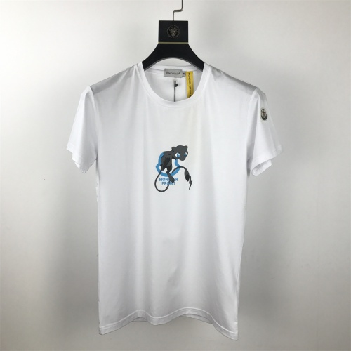 Moncler T-Shirts Short Sleeved O-Neck For Men #820316