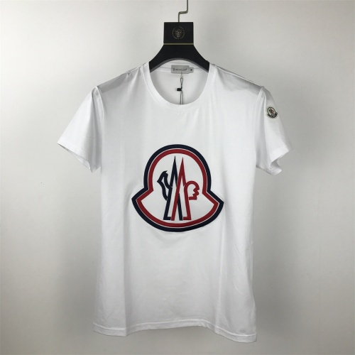 Moncler T-Shirts Short Sleeved O-Neck For Men #820321