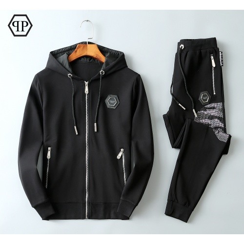 Philipp Plein PP Tracksuits Long Sleeved Zipper For Men #820328