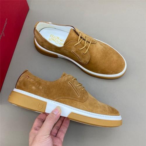 Ferragamo Salvatore FS Casual Shoes For Men #820354