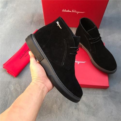 Ferragamo Salvatore Boots For Men #820378