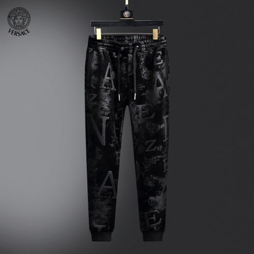 Replica Versace Tracksuits Long Sleeved Zipper For Men #820432 $102.00 USD for Wholesale