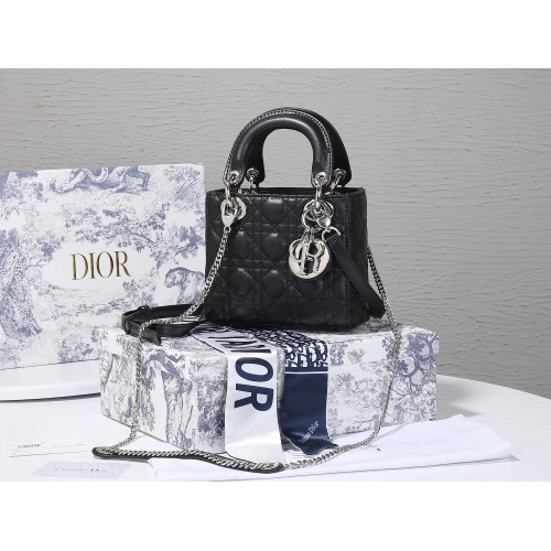 Christian Dior AAA Quality Messenger Bags For Women #820475 $102.00 USD, Wholesale Replica Christian Dior AAA Quality Messenger Bags