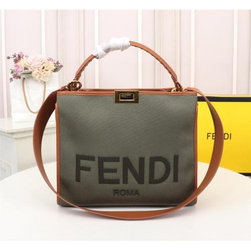 Fendi AAA Quality Handbags For Women #820479