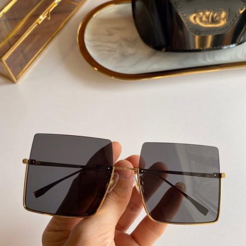 Fendi AAA Quality Sunglasses #820517