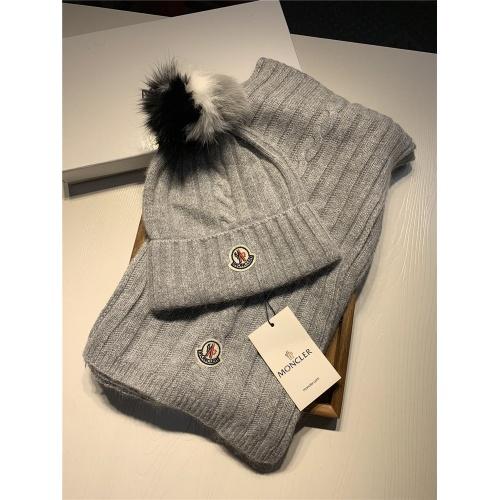 Moncler Scarf & Hat Set #820639