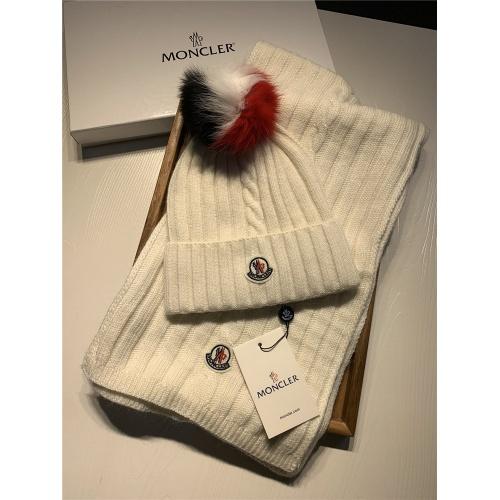 Moncler Scarf & Hat Set #820640