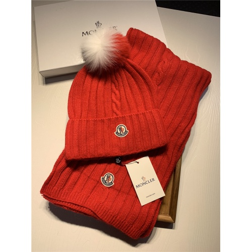 Moncler Scarf & Hat Set #820641