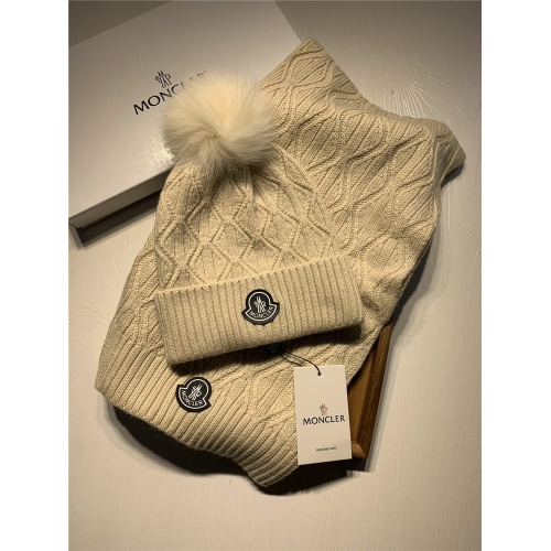 Moncler Scarf & Hat Set #820647