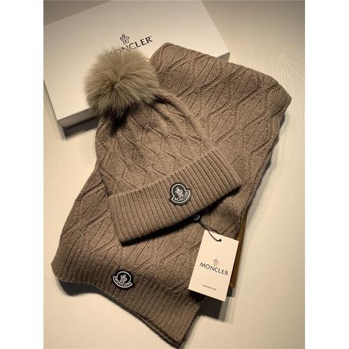 Moncler Scarf & Hat Set #820648