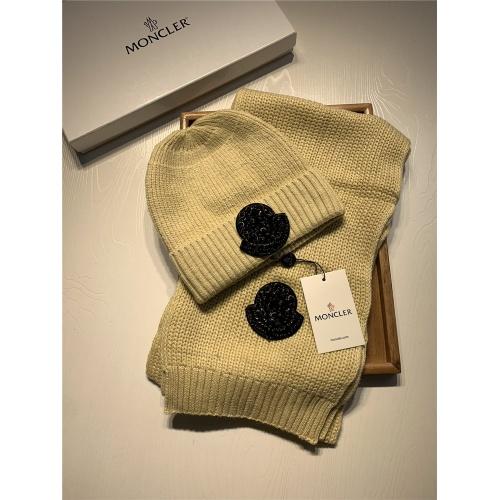 Moncler Scarf & Hat Set #820651