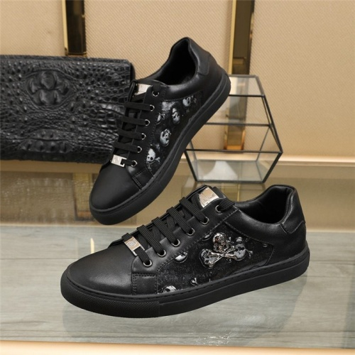 Philipp Plein PP Casual Shoes For Men #820717 $80.00 USD, Wholesale Replica Philipp Plein Shoes
