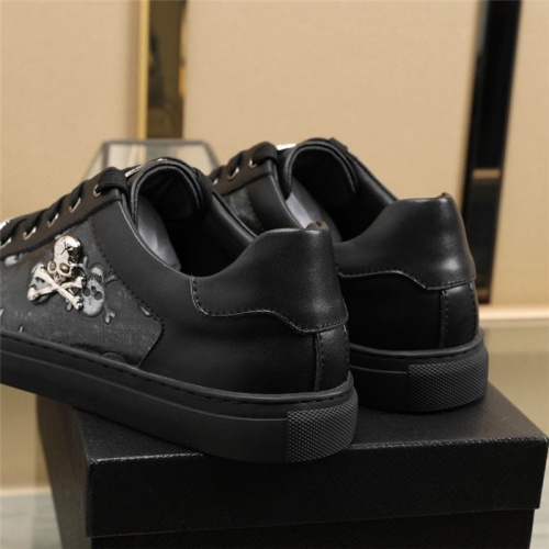 Replica Philipp Plein PP Casual Shoes For Men #820717 $80.00 USD for Wholesale