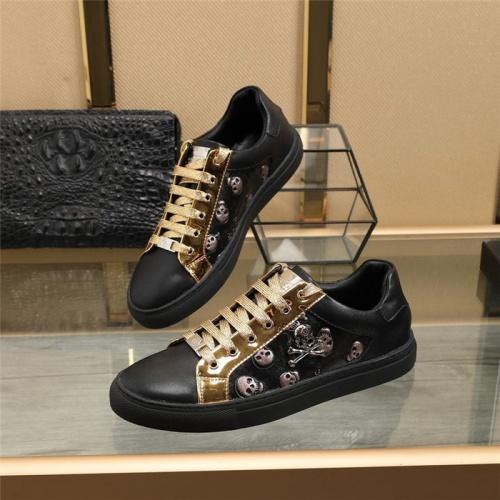 Philipp Plein PP Casual Shoes For Men #820718 $80.00, Wholesale Replica Philipp Plein Shoes
