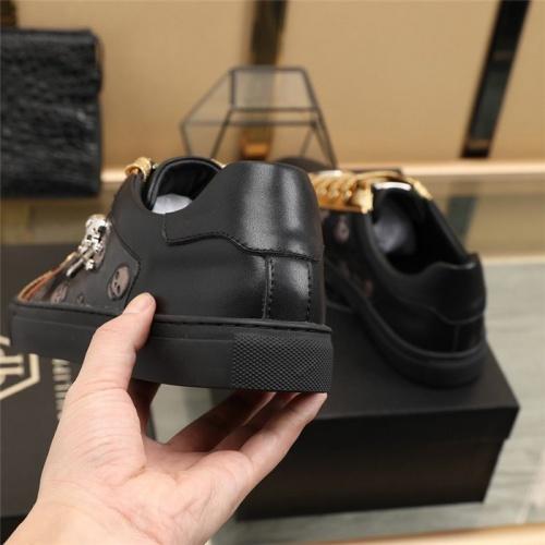 Replica Philipp Plein PP Casual Shoes For Men #820718 $80.00 USD for Wholesale