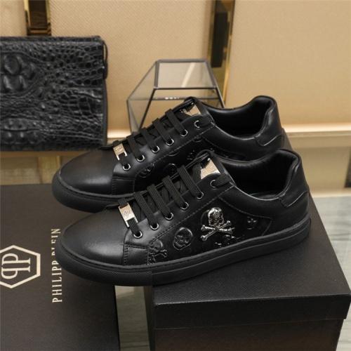 Replica Philipp Plein PP Casual Shoes For Men #820719 $80.00 USD for Wholesale