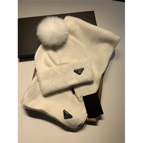 Prada Scarf & Hat Set #820793