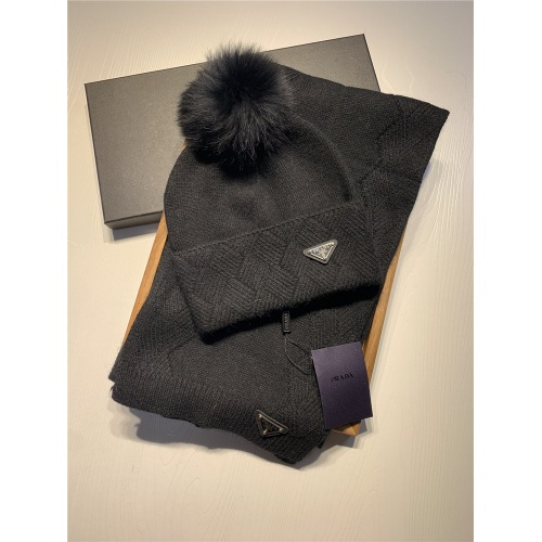 Prada Scarf & Hat Set #820794