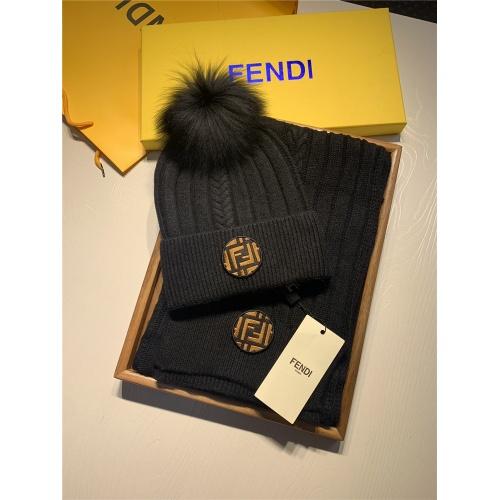 Fendi Scarf & Hat Set #820800