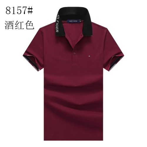 Tommy Hilfiger TH T-Shirts Short Sleeved Polo For Men #820894