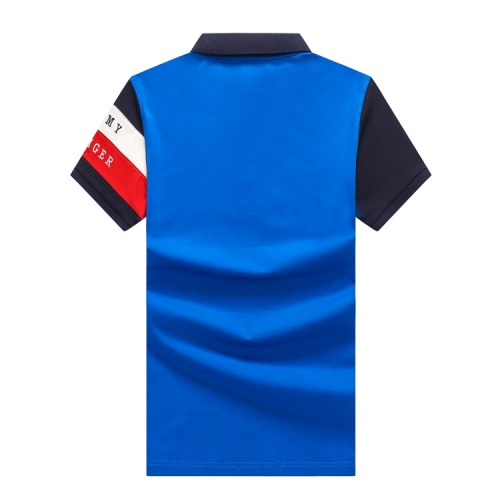 Replica Tommy Hilfiger TH T-Shirts Short Sleeved Polo For Men #820896 $24.00 USD for Wholesale