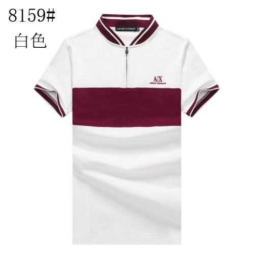 Armani T-Shirts Short Sleeved Polo For Men #820898