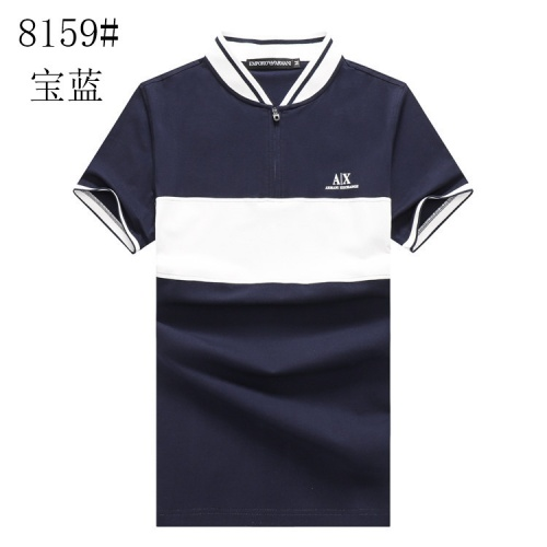 Armani T-Shirts Short Sleeved Polo For Men #820899