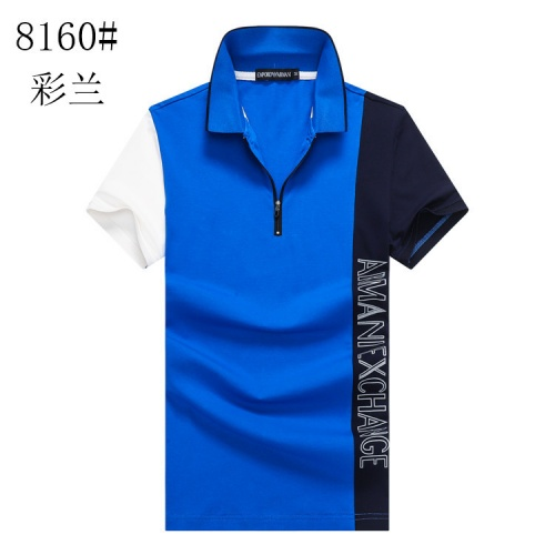 Armani T-Shirts Short Sleeved Polo For Men #820902