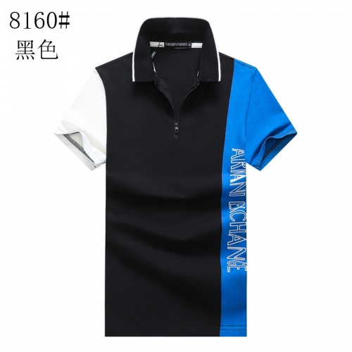 Armani T-Shirts Short Sleeved Polo For Men #820903