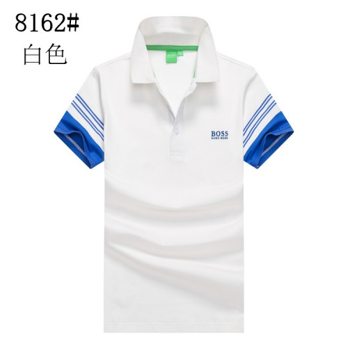 Boss T-Shirts Short Sleeved Polo For Men #820907 $24.00 USD, Wholesale Replica Boss T-Shirts