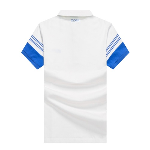 Replica Boss T-Shirts Short Sleeved Polo For Men #820907 $24.00 USD for Wholesale