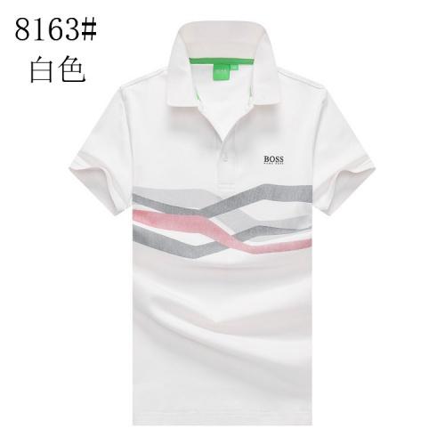 Boss T-Shirts Short Sleeved Polo For Men #820910
