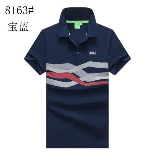 Boss T-Shirts Short Sleeved Polo For Men #820911