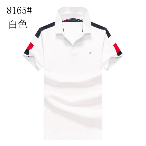Tommy Hilfiger TH T-Shirts Short Sleeved Polo For Men #820913 $24.00 USD, Wholesale Replica Tommy Hilfiger TH T-Shirts