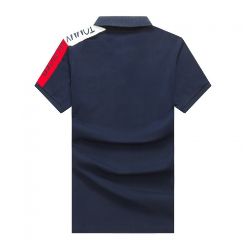 Replica Tommy Hilfiger TH T-Shirts Short Sleeved Polo For Men #820920 $24.00 USD for Wholesale