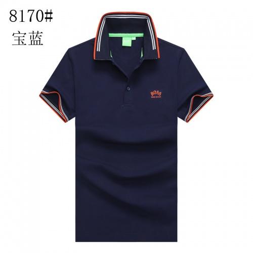 Boss T-Shirts Short Sleeved Polo For Men #820928