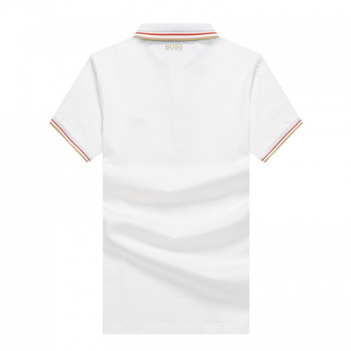 Replica Boss T-Shirts Short Sleeved Polo For Men #820929 $24.00 USD for Wholesale