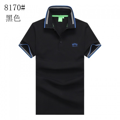 Boss T-Shirts Short Sleeved Polo For Men #820930 $24.00 USD, Wholesale Replica Boss T-Shirts