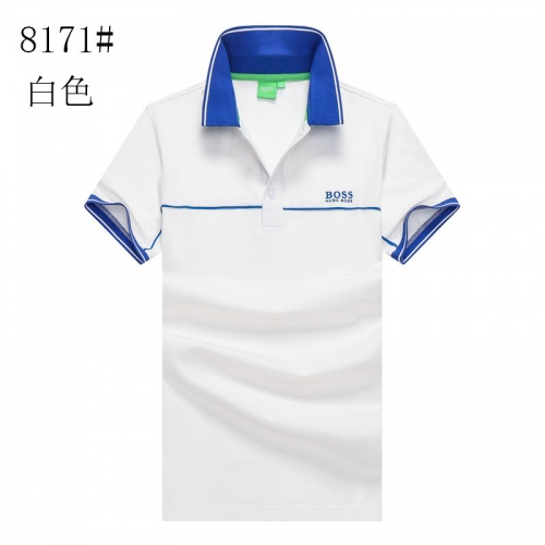 Boss T-Shirts Short Sleeved Polo For Men #820931