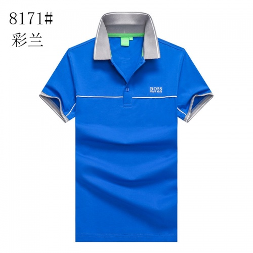 Boss T-Shirts Short Sleeved Polo For Men #820932